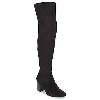 Schuhe Damen Kniestiefel Betty London HERMA Schwarz