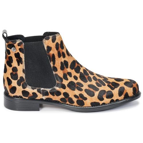 Betty London Schuhe HUGUETTE Leopard Schuhe London Boots Damen 99,99 924d05
