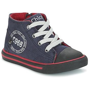 Schuhe Jungen Sneaker High Chicco CRITTER Marine / Schwarz / Rot