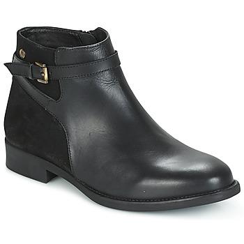 Schuhe Damen Boots Hush puppies CRISTY Schwarz