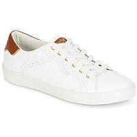 Schuhe Damen Sneaker Low Molly Bracken MALIO Weiss