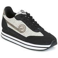 Schuhe Damen Sneaker Low No Name EDEN JOGGER Schwarz / Grau