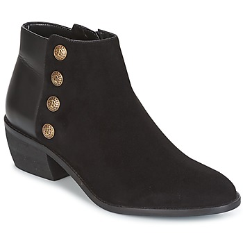 Schuhe Damen Low Boots Dune London PANELLA Schwarz