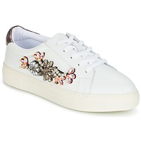 Schuhe Damen Sneaker Low Dune London EMERALDA Weiss