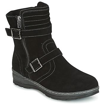 Schuhe Damen Boots Wildflower MYRNA Schwarz