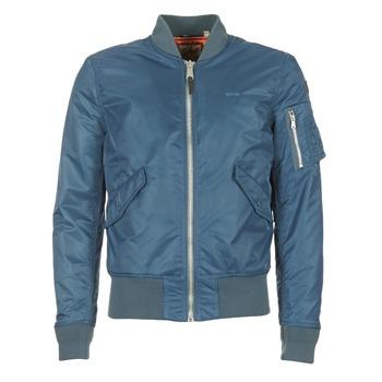 Kleidung Herren Jacken Schott BOMBER BY SCHOTT Blau
