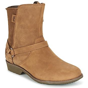 Schuhe Damen Boots Teva DE LA VINA DOS Braun