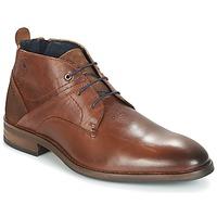 Schuhe Herren Boots Casual Attitude HOKIS Braun