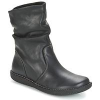 Schuhe Damen Boots Casual Attitude HAPANO Schwarz