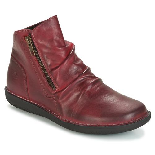 Schuhe Damen Boots Casual Attitude HERMINA Bordeaux