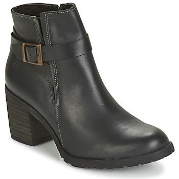 Schuhe Damen Low Boots Casual Attitude HERMINETTE Schwarz