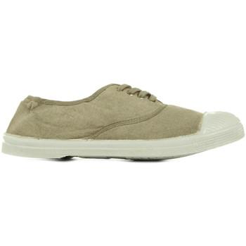 Schuhe Herren Tennisschuhe Bensimon Tennis Lacets Grün