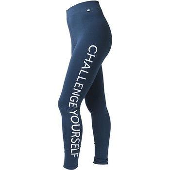 Kleidung Damen Leggings 4F Womens Leggins H4L17-LEG001NAVY Blue