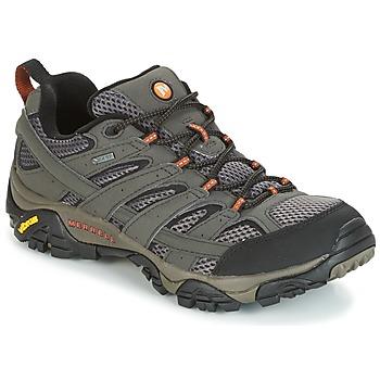 Schuhe Herren Wanderschuhe Merrell MOAB 2 GTX Grau