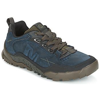 Schuhe Herren Wanderschuhe Merrell ANNEX TRAK LOW Blau