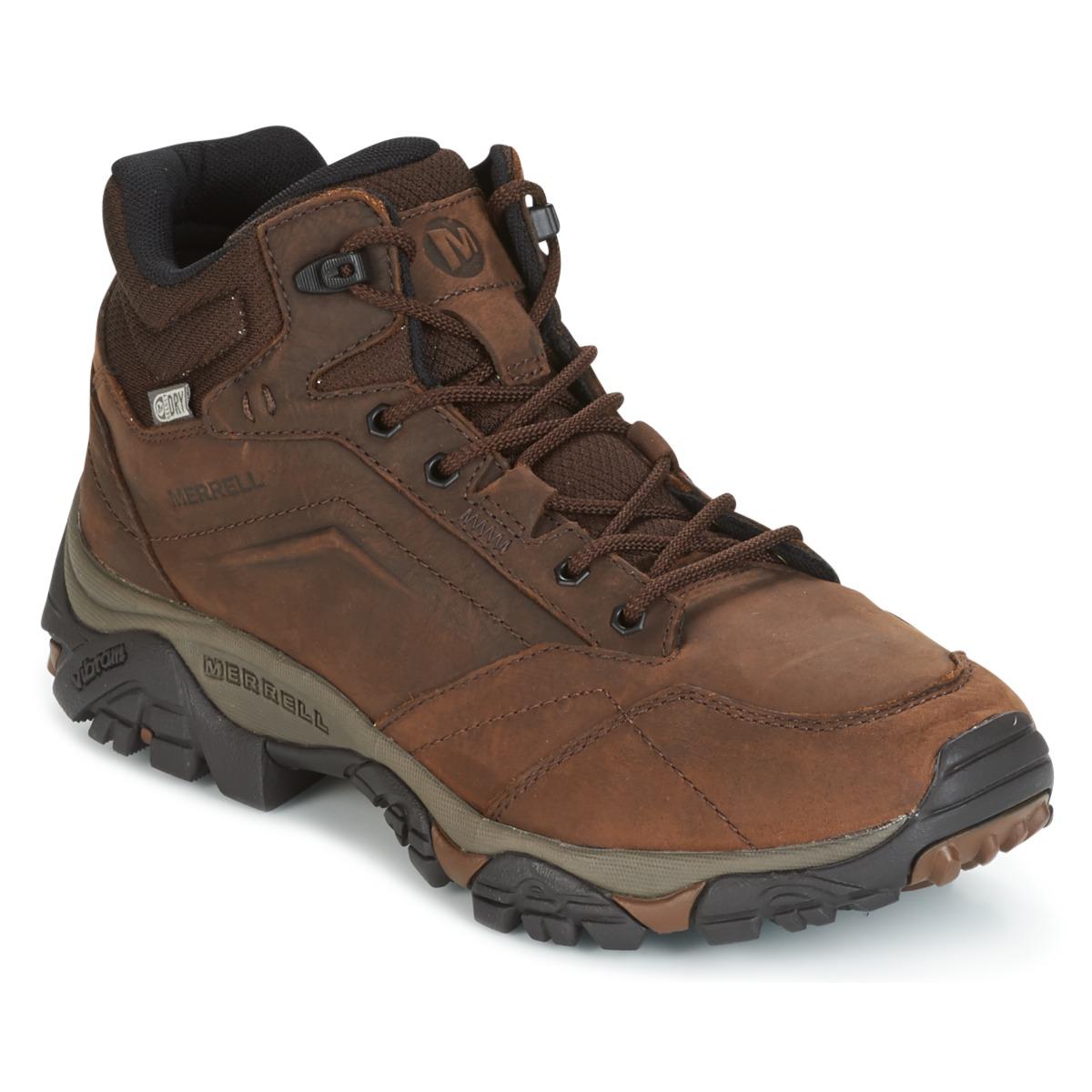 Merrell MOAB VENTURE MID WTPF Braun - Kostenloser Versand bei Spartoode ! - Schuhe Boots Herren 145,00 €