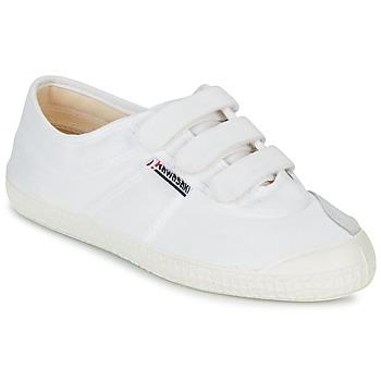 Schuhe Sneaker Low Kawasaki BASIC VELCRO Weiss