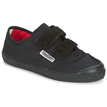 Schuhe Kinder Sneaker Low Kawasaki BASIC V KIDS Schwarz