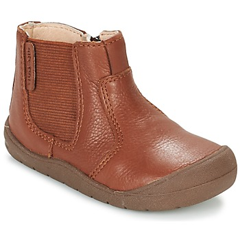 Schuhe Kinder Boots Start Rite FIRST CHELSEA Braun