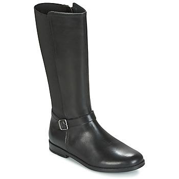 Schuhe Mädchen Klassische Stiefel Start Rite GRACE LONG Schwarz