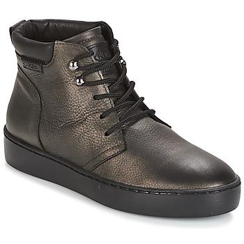 Schuhe Damen Sneaker High PLDM by Palladium TRACK DST W Schwarz / Gold