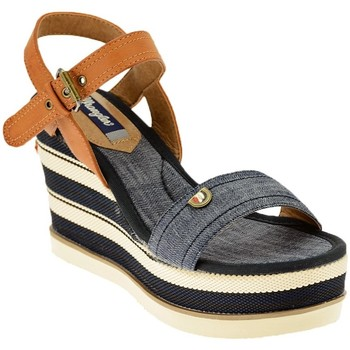 Schuhe Damen Sneaker High Wrangler JEENA SUNSHINE STRAP wedge