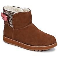 Schuhe Damen Boots Skechers KEEPSAKES Braun