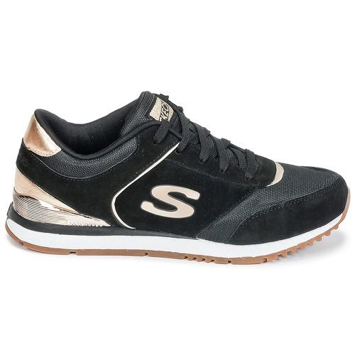 Skechers SUNLITE Schwarz TurnschuheLow / Goldfarben  Schuhe TurnschuheLow Schwarz Damen 64,95 2dc977