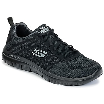Schuhe Herren Fitness / Training Skechers FLEX ADVANTAGE 2.0 - Schwarz