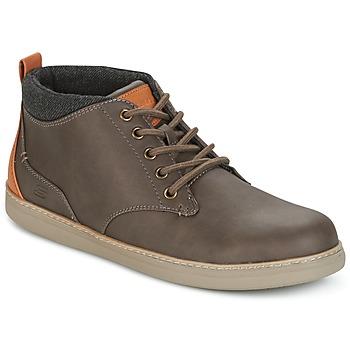 Schuhe Herren Sneaker High Skechers MENS USA Braun