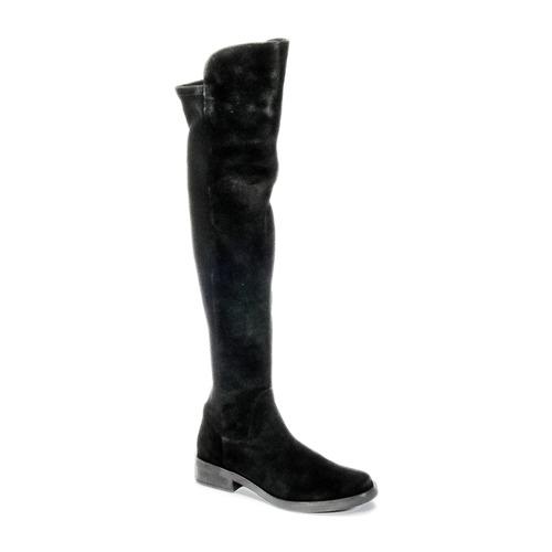 Buffalo NUPAN Schwarz Schuhe Kniestiefel Damen 80