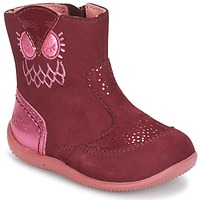 Schuhe Mädchen Boots Kickers BRETZELLE Rose