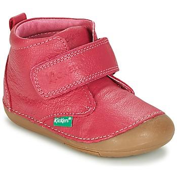 Schuhe Mädchen Boots Kickers SABIO Fuchsienrot