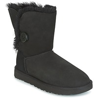 Schuhe Damen Boots UGG BAILEY BUTTON II Schwarz