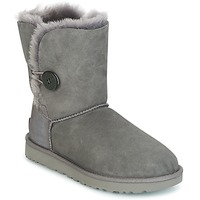 Schuhe Damen Boots UGG BAILEY BUTTON II Grau