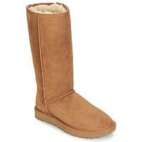 Schuhe Damen Klassische Stiefel UGG CLASSIC TALL II Braun