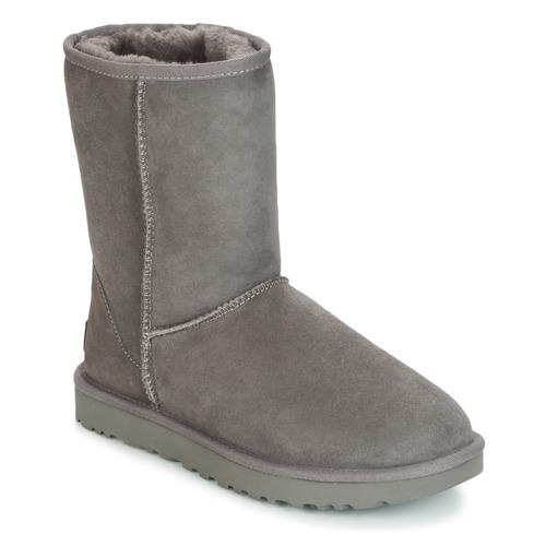 Schuhe Damen Boots UGG CLASSIC SHORT II Grau