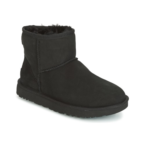 Schuhe Damen Boots UGG CLASSIC MINI II Schwarz