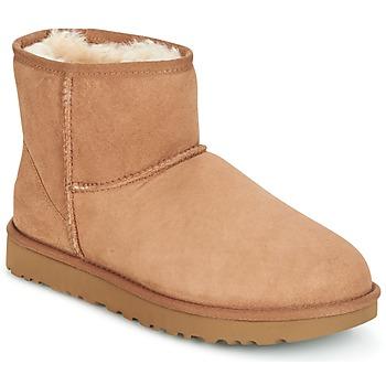 Schuhe Damen Boots UGG CLASSIC MINI II Camel