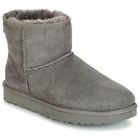 Schuhe Damen Boots UGG CLASSIC MINI II Grau