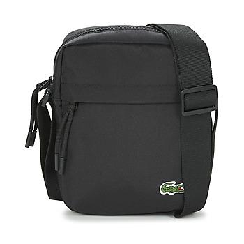 Taschen Herren Geldtasche / Handtasche Lacoste NEOCROC Schwarz