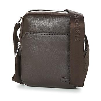 Taschen Herren Geldtasche / Handtasche Lacoste GAEL Braun
