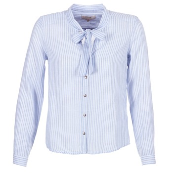 Kleidung Damen Hemden Cream CAMA STRIPED SHIRT Blau