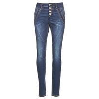 Kleidung Damen Straight Leg Jeans Cream NYNNE JEANS BAILEY FIT Blau