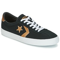 Schuhe Damen Sneaker Low Converse BREAKPOINT OX Schwarz / Gold