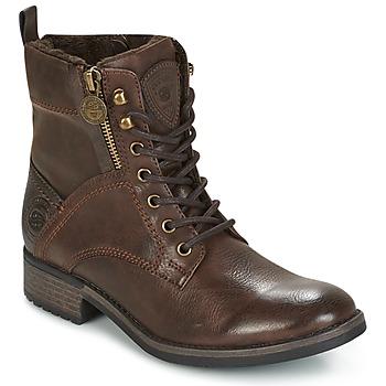 Schuhe Damen Boots Dockers by Gerli LOUZA Kaffee