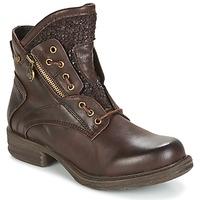 Schuhe Damen Boots Dockers by Gerli CORTA Braun