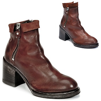 Schuhe Damen Low Boots Moma CUSNA COPPER Braun