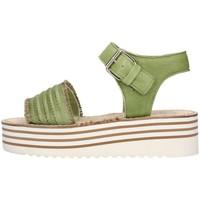 Schuhe Damen Sandalen / Sandaletten Zoe Cu50/07 grün