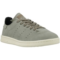 Schuhe Herren Sneaker Low adidas Originals Stan Smith Lea Sock Grau